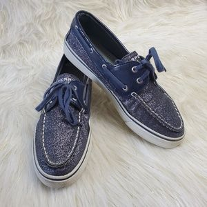 Sperry Shoes - Sperry Top-Sider Sparkle Boat Shoes 9